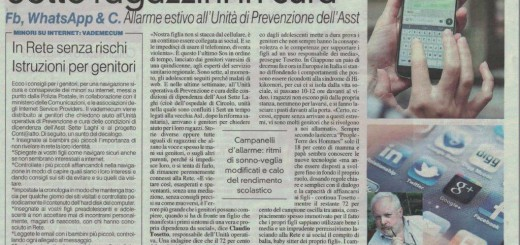 Uso Cellulare Prevenzione