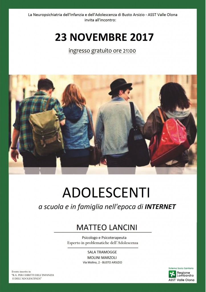 Adolescenti A Scuola e Famiglia Epoca Internet
