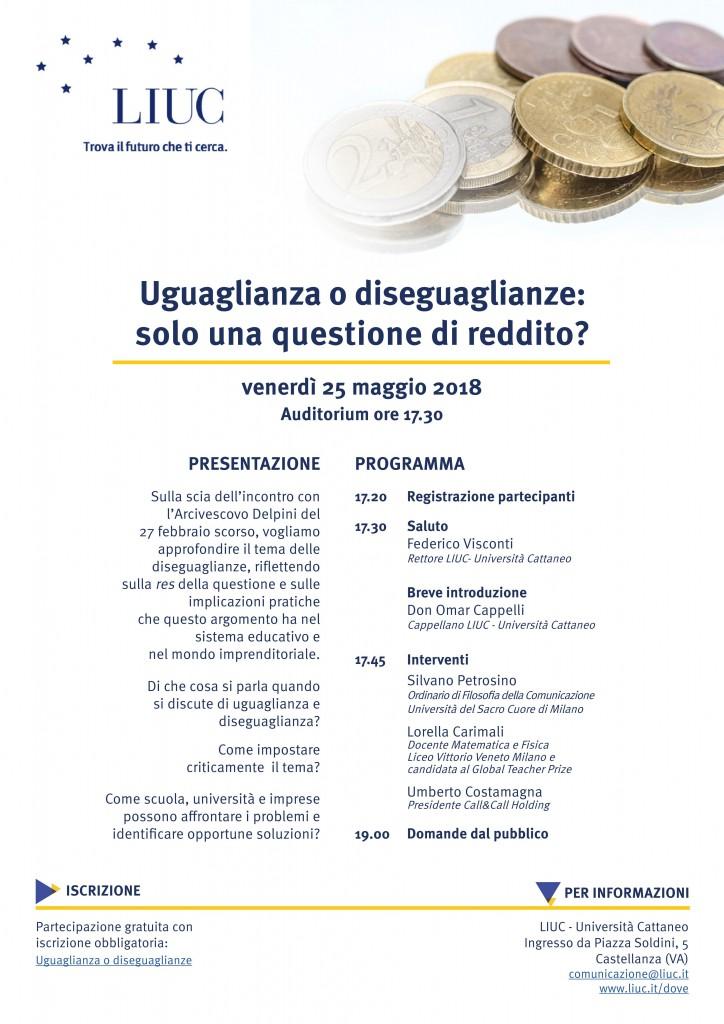 Convegno 25 maggio_Uguaglianze Diseguaglianze