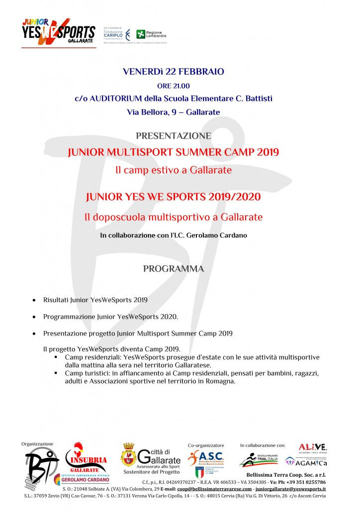 JUNIOR YES WE SPORTS 22-02
