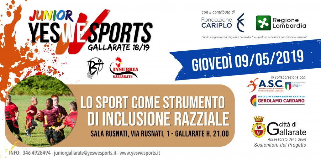 Yes We Sport Come Inclusione