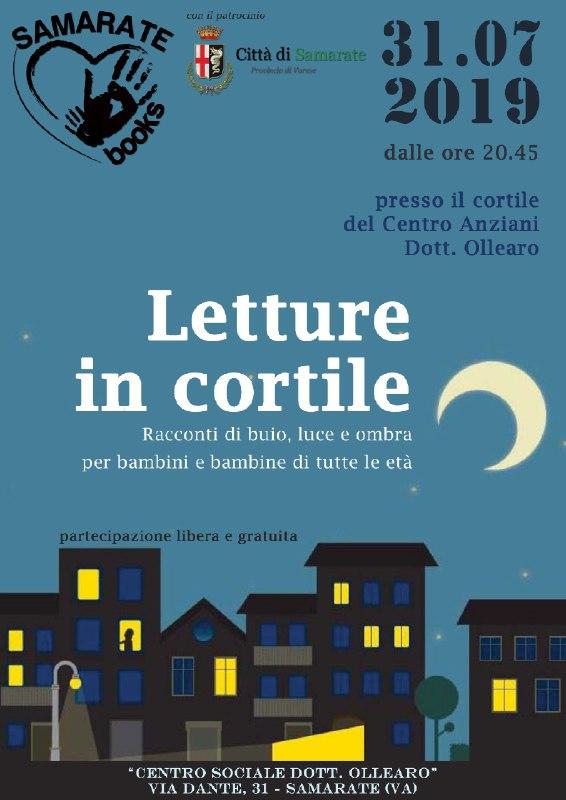 Letture in Cortile