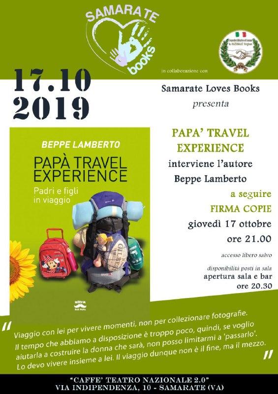 Papa Travel Experience Presentazione
